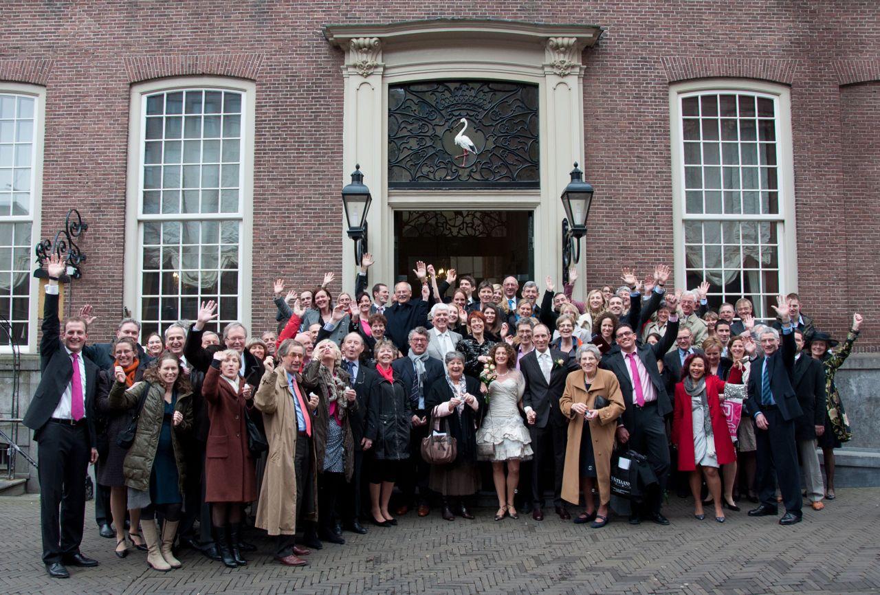 Met 84 man op de foto, heerlijk om heel die dag met deze groep mensen te hebben mogen vieren
