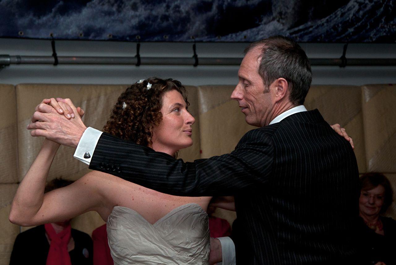 En dan eindelijk die Argentijnse tango als openingsdans, wauw!