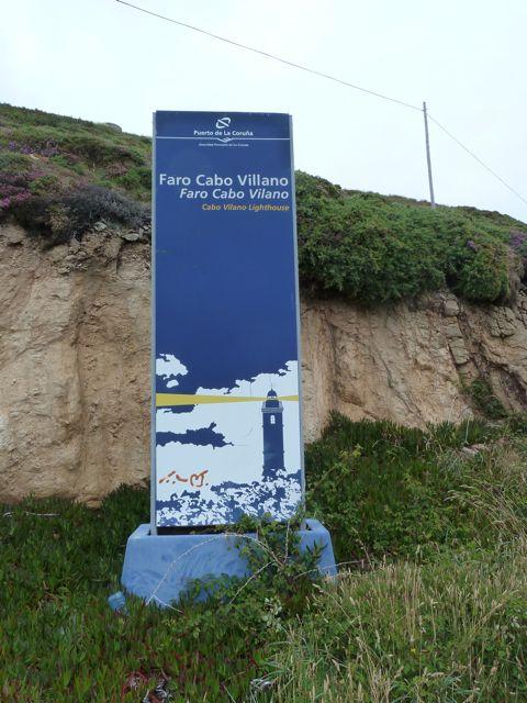 bijna bij Cabo Villano