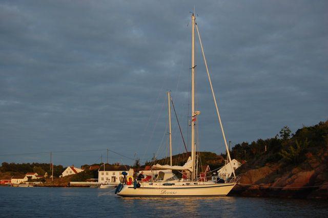 De boot in Noorwegen