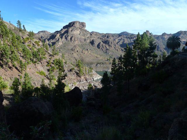 Gran Canaria, ook weer een bergachtig eiland wat we dankzij de huurauto van Karin en Edwin kunnen bewonderen