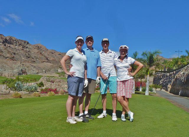 Dag twee van de golfcompetitie, nieuwe outfit, nieuwe kansen