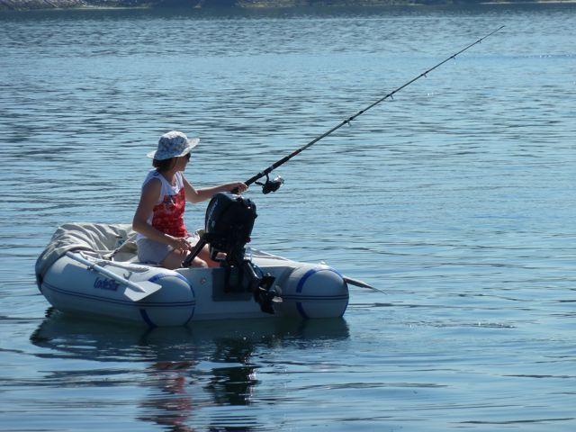 even ontspannen vissen en de gedachten de vrije loop laten.