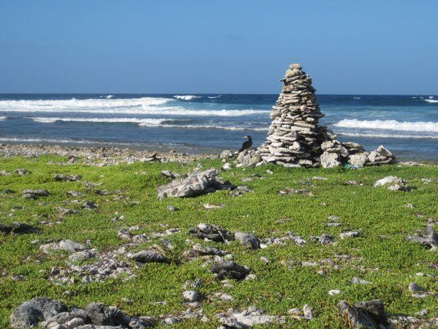 Wandeling op eiland geeft ons dit uitzicht