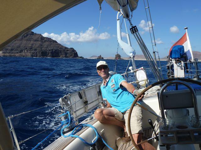 Een fantastische zeildag naar Arrecife, de hoofdstad van Lanzarote