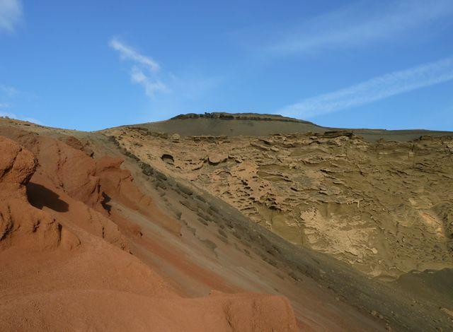 Zulke indrukwekkende kleuren in het lavalandschap