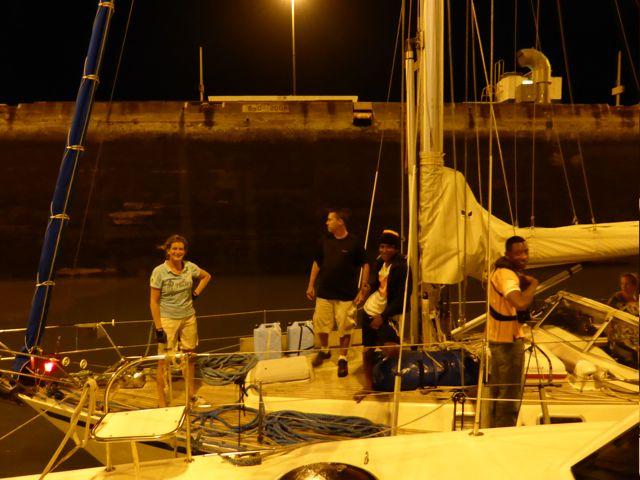 shot vanaf de buurboot genomen