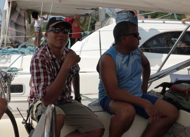 Victor en Ivan zijn de volgende advisors aan boord