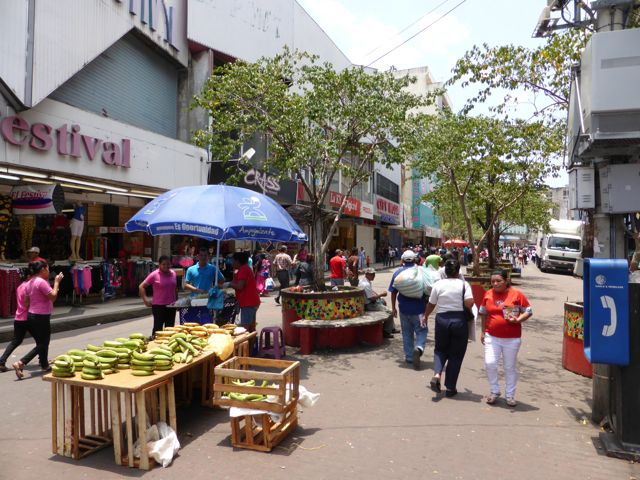 het straatbeeld van Central Street