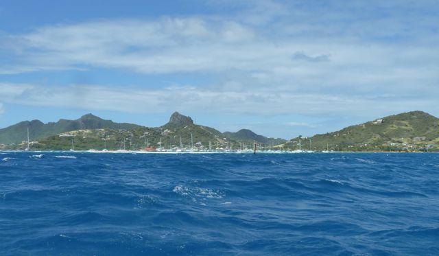 Clifton Bay, beschermd door het rif