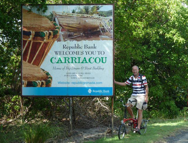 Welkom op Carriacou